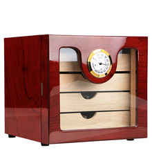 Cigar Humidor Luxury COHIBA cigar cabinets humidors Humidifier for cigar box Small humidor humidifier Best cigar case