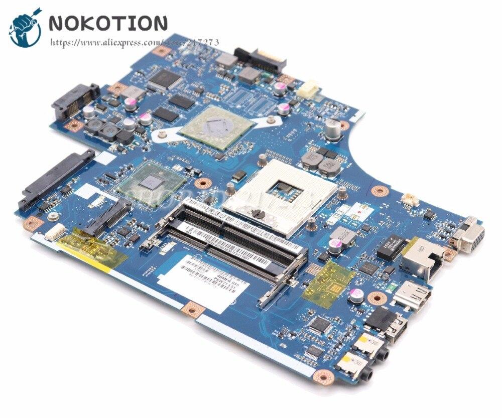 NOKOTION для Acer aspire 5741 5741G материнская плата для ноутбука MBWJR02001 NEW70 LA-5891P HM55 DDR3 HD5740 Бесплатный процессор