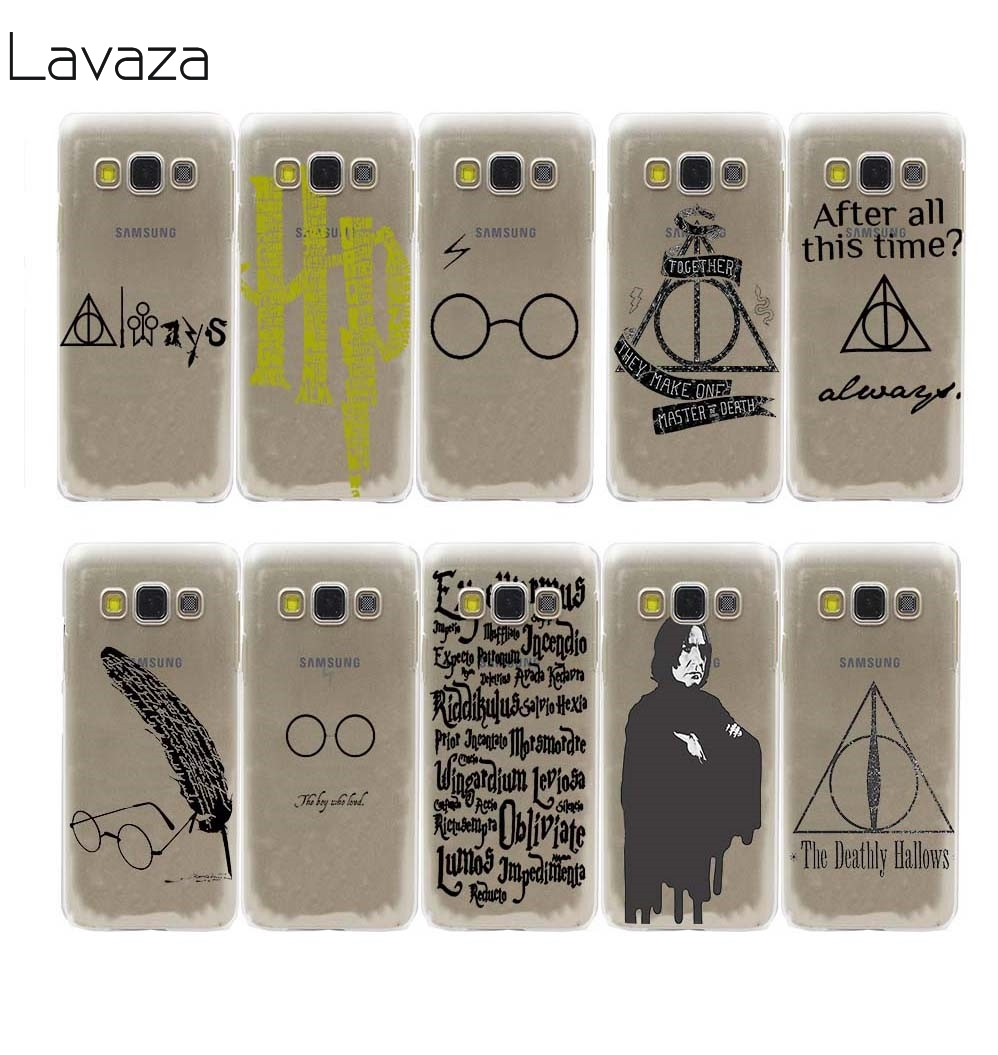 always Harry potter Hard Hollow Out Transparent Case Cover for Galaxy S3 4 5 Mini 6 7 Edge Plus & 2015 A3 5 7 8 & J5 7 & Note