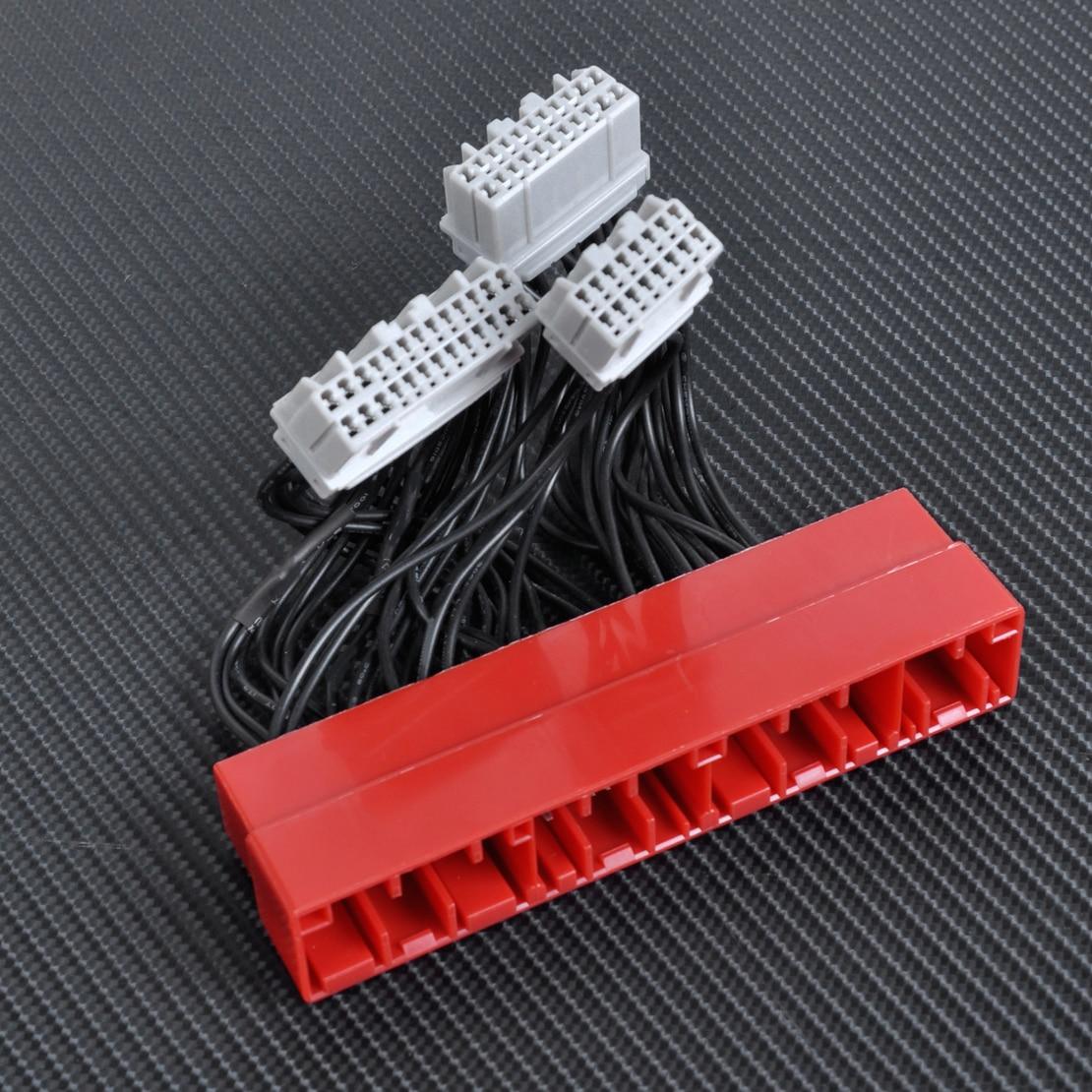 OBD2B TO OBD1 Conversion ECU Harness Jumper Adapter Wire Manual Transmission for Honda Civic 1999 2000 Acura Integra 2000
