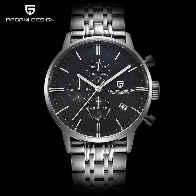 Fashion Chronograph Sports Watch Quartz Watch Luxury Brand PAGANI DESIGN 5