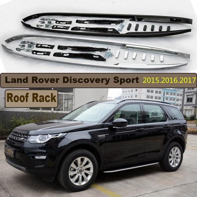 galerie de toit de voiture porte bagages pour land rover discovery sport haute. Black Bedroom Furniture Sets. Home Design Ideas