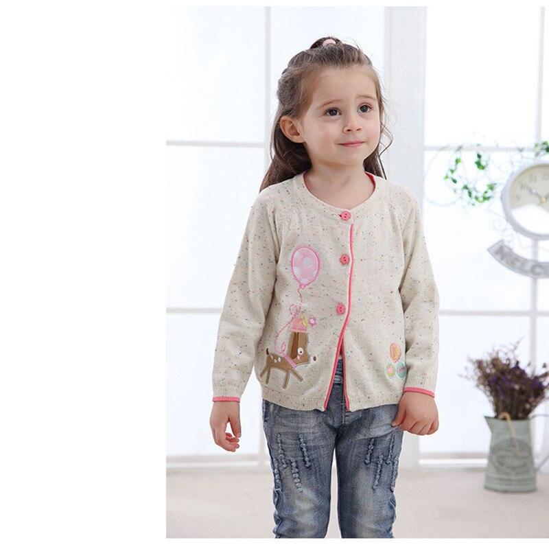 2018 Neueste Baby Mädchen Casual Pullover Mit Muster Langarm Baby Mädchen Pullover 2 Farben Geeignet Für 0-2 Jahre