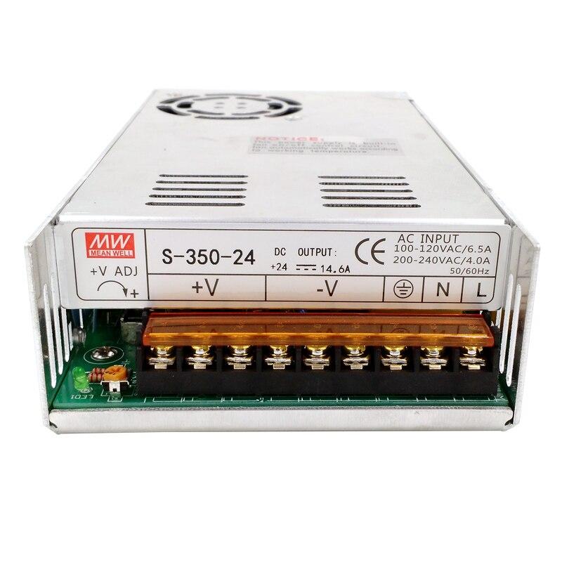 High Quality Power Supply 48V 350W AC to DC Power Supply AC DC Converter S-350-48 led power supply 48v 201w ac to dc switching power supply ac dc converter high quality s 201 48v free shipping