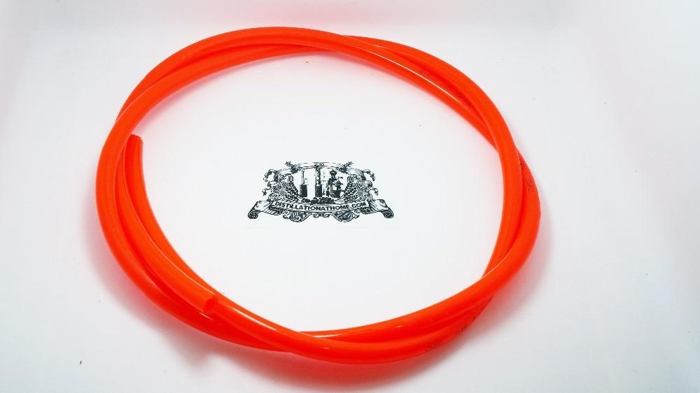 PU tubo OD 12mm, ID 8mm, 1-5 mPU tubo OD 12mm, ID 8mm, 1-5 m