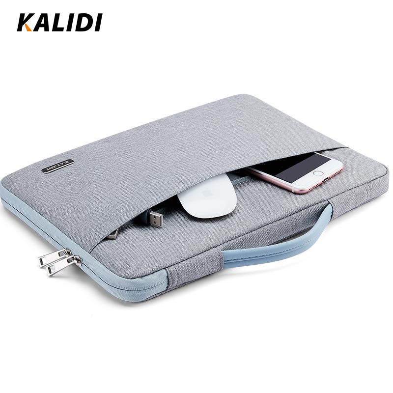 KALIDI 11 12 13 14 15 Inch Laptop Bag Waterproof For Men Women Notebook Bag Sleeve 13.3 15.6 Inch Fashion Computer Macbook Bag kalidi waterproof laptop bag 15 6 17 3 inch women men notebook bag 15 17 inch computer bag usb for macbook air pro dell hp bag