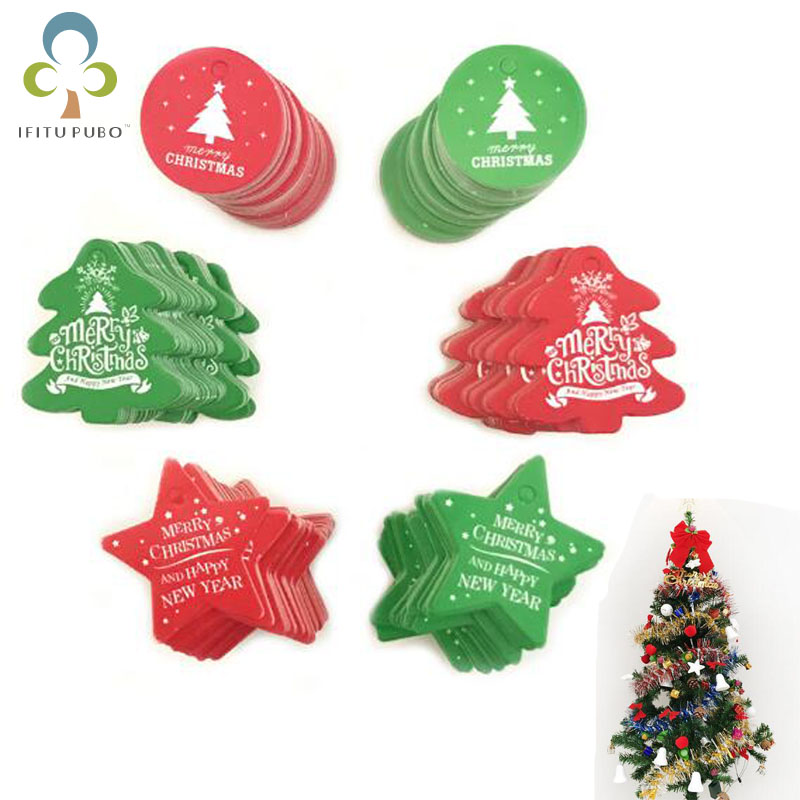 Detail Feedback Questions About 100pcs Set Christmas Baking Tag Gift