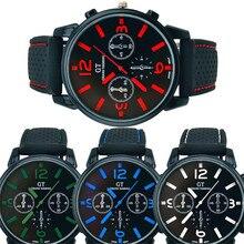 Wrist Watch Men Top Brand 1PC Men Fashion Stainless Steel Sport Cool Quartz Hours Wrist Analog Watch relogio masculino saat P5