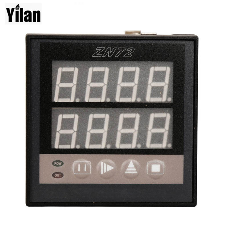 ZN72 1-9999 Panel Mount Count Up Down Digital Counter Relay AC 220V cg8 digital counter ac 110 220v