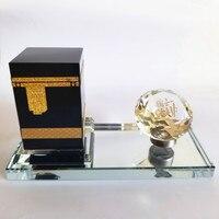 High stocker Muslim supplies crafts islamic decor Crystal Kaaba in Mecca Haji Arab handicrafts souvenirs K04