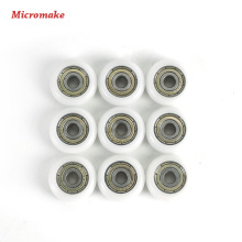 Micromake 3D Printer Parts 9 pcs / lot DIY Pulley Wheel Plastic Pulley Wheel Driven Wheel