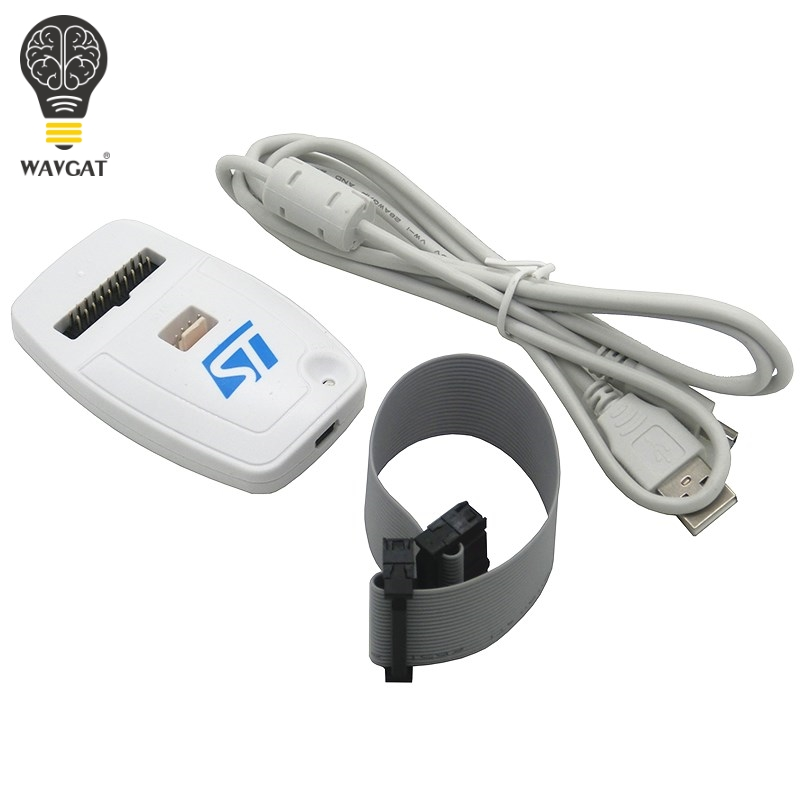 Wavgat ST-LINK/v2 ST-LINK v2 (cn) st link stlink emulador download gerente stm8 stm32 dispositivo artificial 100% novo