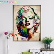 Full Diamond Painting Monroe Marilyn Diy Embroidery Figure Oil Series Decorate Living Room Good Gift For Family