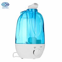 Automatic 4L LED Light Ultrasonic Humidifier Variable Spray Control And Direction