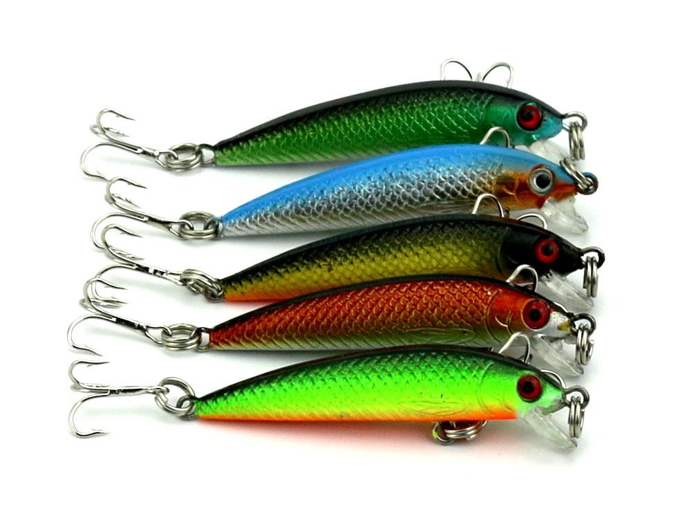 5 db MINI mesterséges mesterséges mesterséges műanyag halászati - Halászat