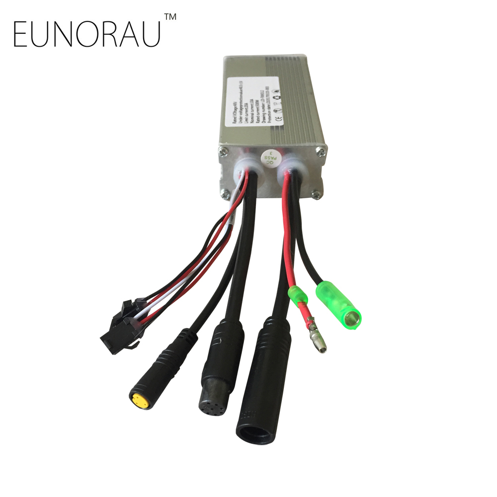Free shipping 48V20A sin-wave controller for 48V500W ENA front hub motor kit free shipping 36v18a sin wave controller for ena 36v350w torque sensor electric bike hub motor kits
