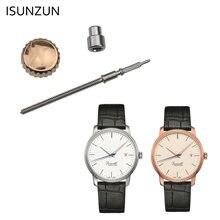 Водонепроницаемые часы isunzun Корона серебристого или розового