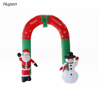 240cm Air Inflatable Santa Claus Snowman Outdoor Christmas Decorations for Home Yard Garden Decoration Merry Christmas noel 2018