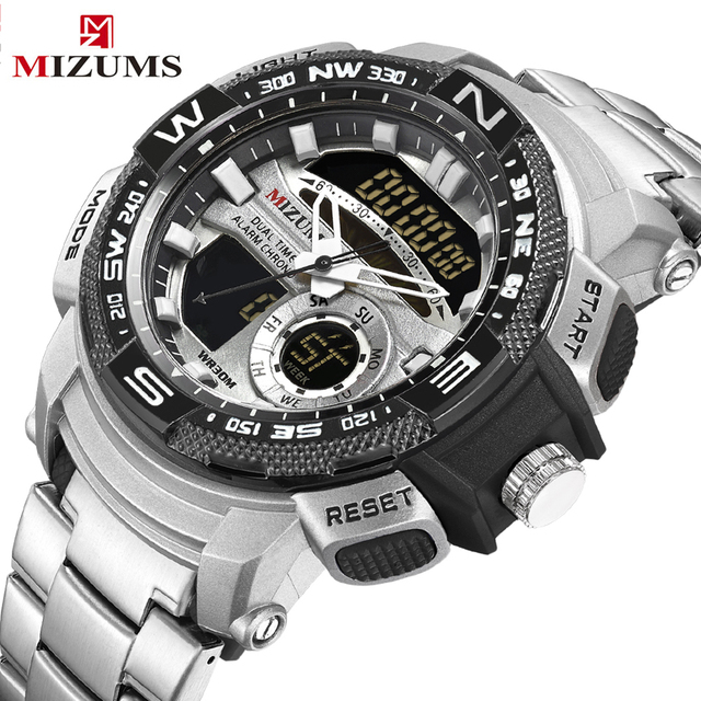 48fb1ee8b40 Envío de la gota de cuarzo creativo relojes negocio deporte Digital Reloj  de pulsera hombre impermeable