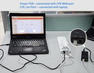 Image 5 - Routeur wi fi 5.8G, 2 pièces 3 5km longue Distance pour lextérieur, amplificateur de Signal, Point Wifi AP pont sans fil CPE antenne AP