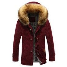 2016 зима новый мужской моды отдыха хлопка мягкой одежды толстые Парки куртка человек с капюшоном Траншеи пальто куртки Бесплатно доставка