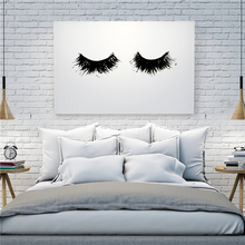 The Abstract Eyelash Minimalist Canvas Painting Oil Print Poster Wall Art HD Picture For Living Home Bedroom Decor
