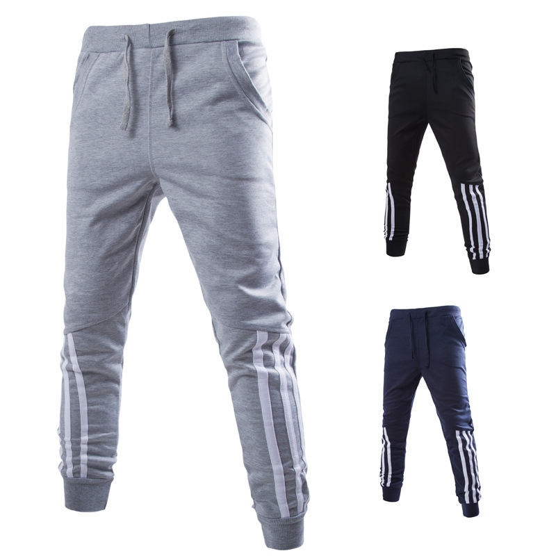 2016 New Mens Joggers Fashion Casual Sweatpants Sport Pants Trousers Men Tracksuit Bottoms Track Training Jogging 05