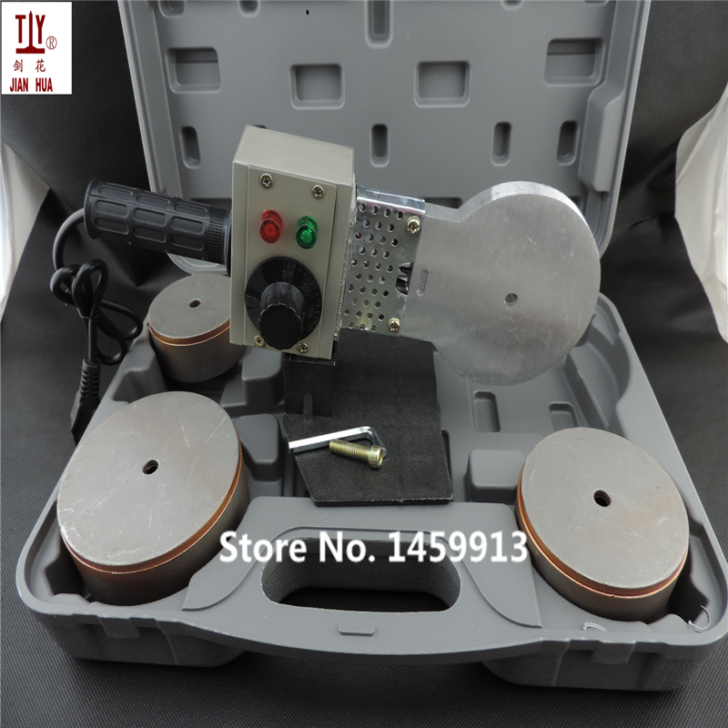 Free shipping JH-110S Temperature controled PPR Welding Machine, AC 220V 1200W DN 75-110mm plastic pipe welding machine free shipping 24v dc mig welding wire feeder motor single drive 1pcs