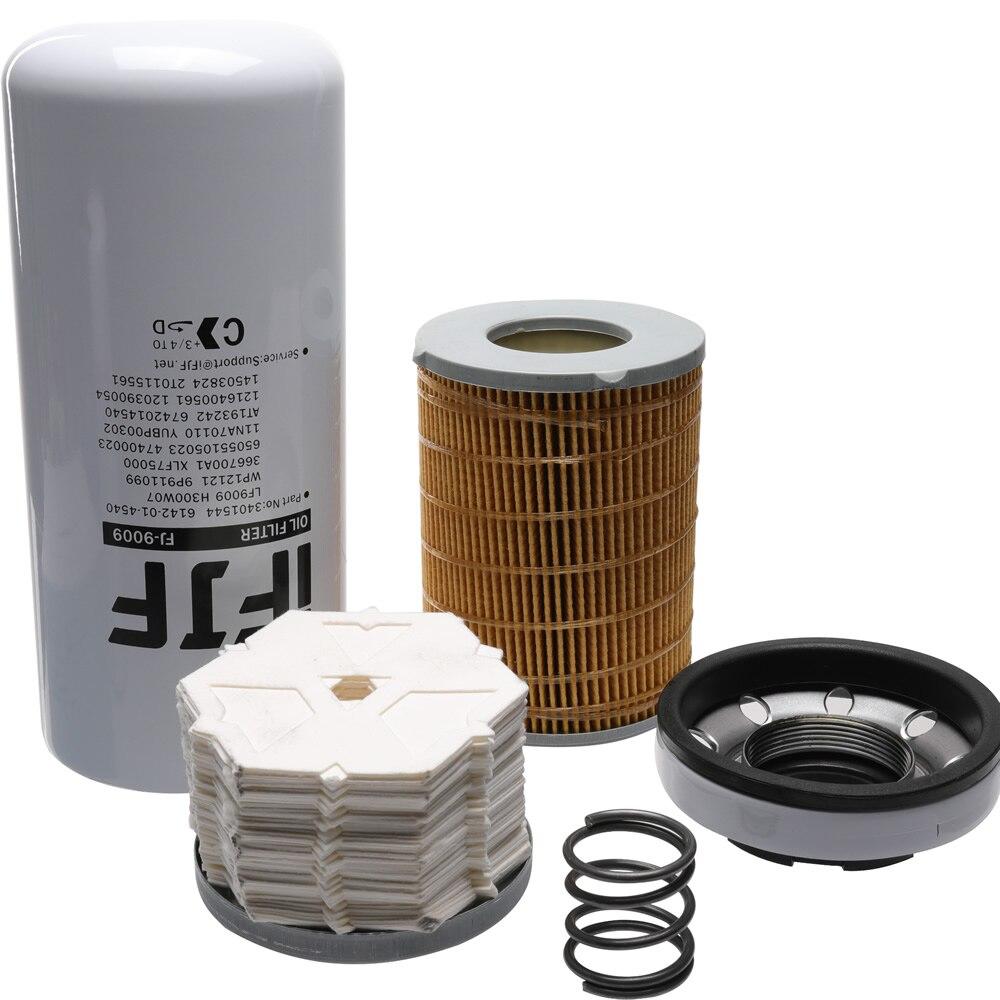 Filtre à huile iFJF LF9009 pour moteurs Diesel Cummins ISC 8.3L et ISL 9.0L remplacer OEM 3401544 AT193242 1216400561