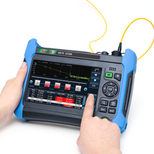 Komshine أحدث نموذج QX70 MS SM و MM OTDR 850/1300/1310/1550nm ، 32/30/28/24dB ، عالية الأداء ، وظائف متعددة