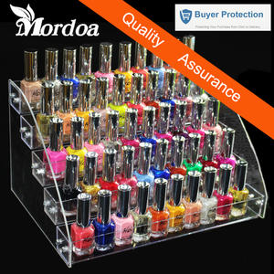 Mordoa Nail Polish Rack Holder Booking Jewelry Organizer