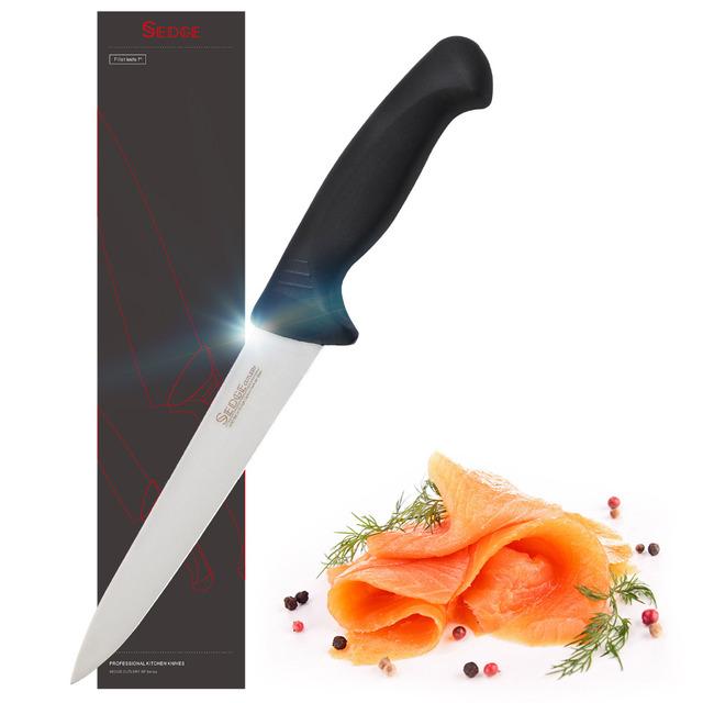 Sedge Fillet Boning Knife – SP Series – German High Carbon Stainless Steel – Ergonomic Handle