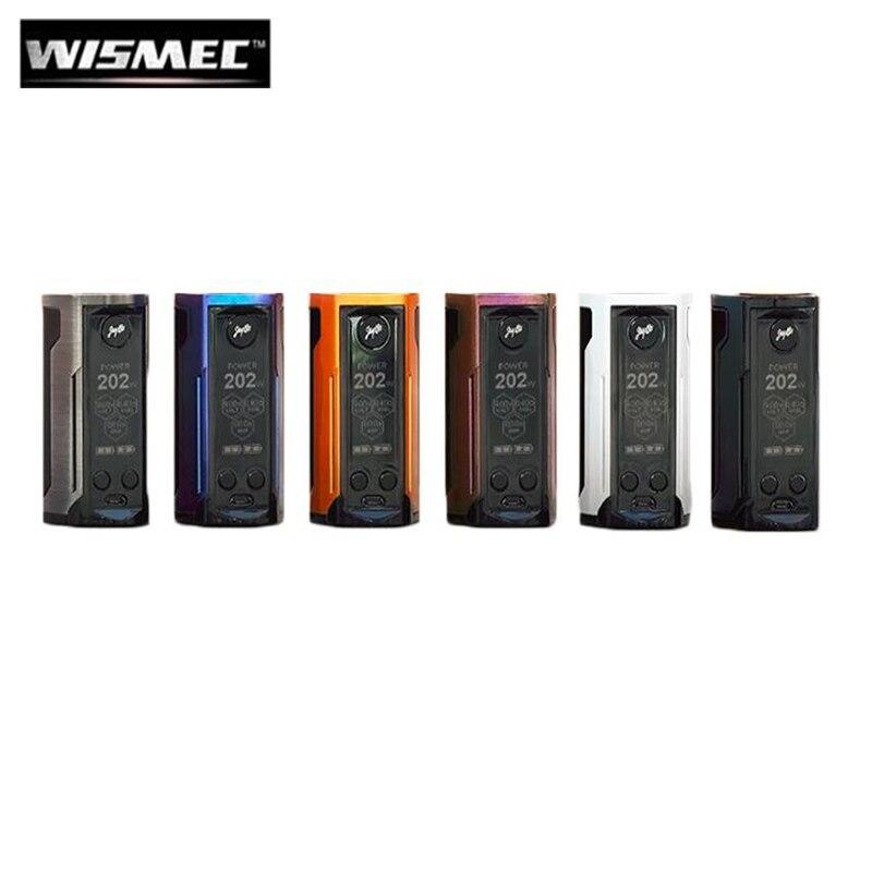 Original Wismec Reuleaux RX GEN3 Dual 230W RX GEN 3 Dual Box MOD fit GNOME King Tank Electronic Cigarette Vape