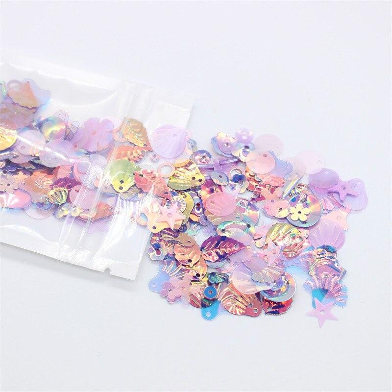 KSCRAFT 20g Multi Shapes Sequins PVC Flat For DIY Scrapbooking/Card Making Decoration Crafts