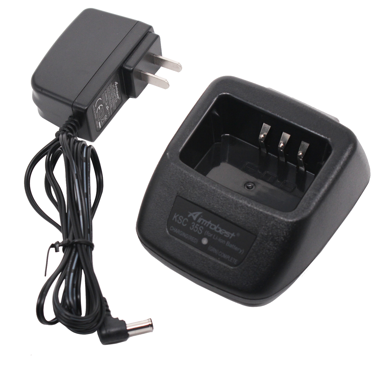 Base no power supply for Kenwood TK-2000E Walkie Talkie Li-ion Battery Charger