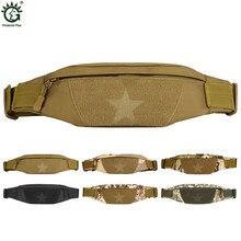 Top Quality Men Fanny Waist Pack Military Equipment Belt Hip Bum Male Travel Waist Bag Waterproof Nylon Waist Pouch Army Packs