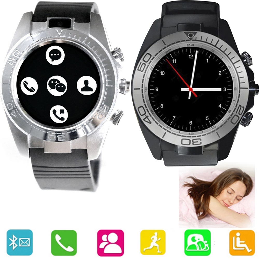 Stylish Bluetooth Smart Wrist Watch Phone Support SIM TF Card Screen Touch For Android Samsung Motorola Alcatel Huawei Lenovo LG