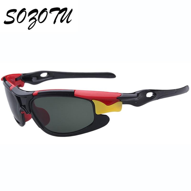Fashion Kids Polarized Sports Sunglasses Brand Designer Sun Glasses For Boys&Girls Baby Children Goggles Oculos de sol YQ025