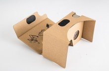 Virtual Reality Google cardboard 2 2.0  VR 3D glasses for 3.5-6″ Smart phone + wireless game controller + 8GB 3D games