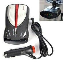 16-Band Car Radar Detectors XRS 9880 Speedometer 360° Laser Anti 6 Signal LED Display