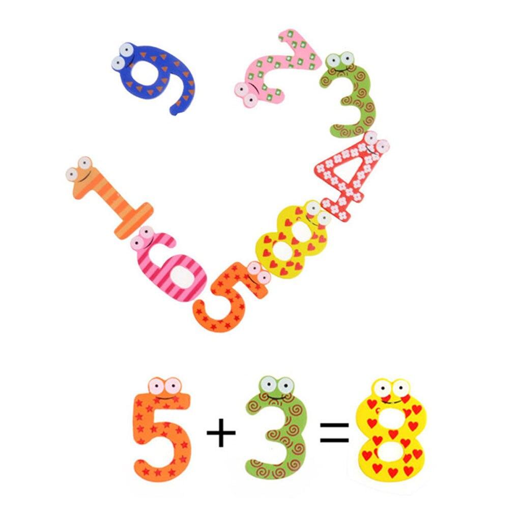 15 шт. деревянный магнит на холодильник алфавит развития интеллекта игрушка детская Магнитная Стикеры классе офис доски