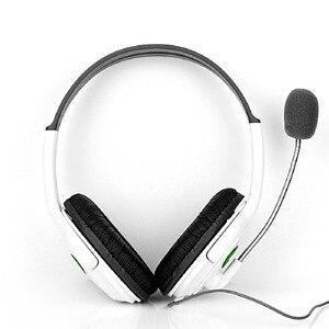 Image 3 - Marsnaska 2016 חדש לבן & שחור ניגודיות צבע אוזניות אוזניות עם מיקרופון מיקרופון עבור Xbox 360 חי בקר באיכות גבוהה