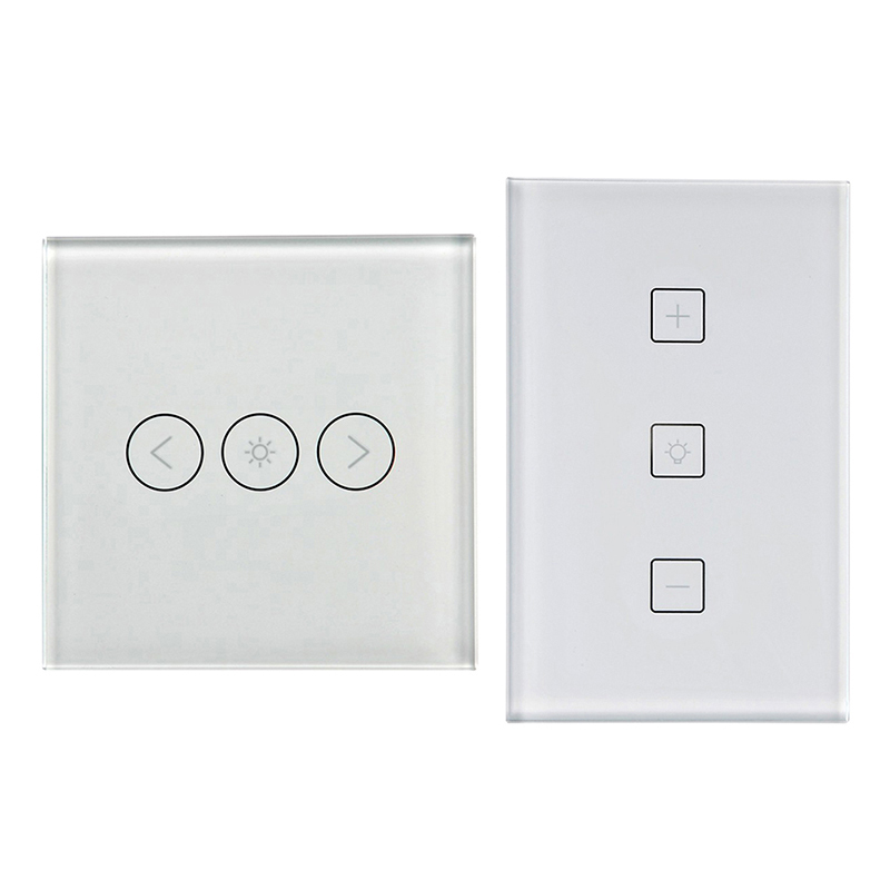 LAIDEYI WiFi LED Dimming Switch Work With Alexa Google Home Intelligent Voice Control AC110-240V EU US Wifi Smart Dimmer Switch mini wifi rgb strip light controller with music control and voice control compatible with google home