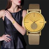 Vendas Hot Elegante Mulheres Relógio de Algarismos Romanos Quartz Faux Leather Mulheres Relógios relogio feminino Presente Hot Venda Por Atacado 88