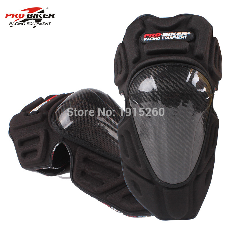New Brand Carbon Fiber Motorcycle Knee Pads Motocross off road Racing knee Protector Motorbike Knee Guard