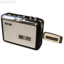 2017 nuevo usb reproductor Portátil convertidor de cassette tape to MP3 converter en U Controlador Flash directamente, sin necesidad de PC envío gratis