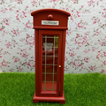 Art & Collectibles 1:12 Scale Miniature Classical  Call Box  Model  Antique Dollhouse Furniture  Miniature Telephone Booth