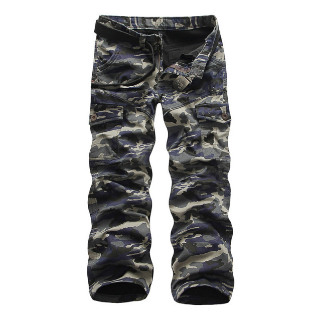 Winter Fashion Brand Men Pants Men Military Camouflage velvet Pencil Pants Joggers Sweatpants Army  Pants Cotton Trousers
