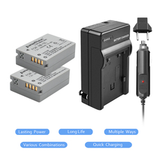 2Pcs NB-10L NB 10L NB10L Battery+Charger kit for Canon PowerShot G15 G16 G1X G3X SX40 SX40HS SX50 SX60 HS Camera L20