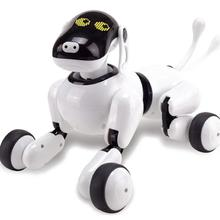 Get more info on the HeLIC Max Remote Control Intelligent Robot Dog AI Electronic Pet Mobile APP Manipulation Bluetooth Speaker Multi-function